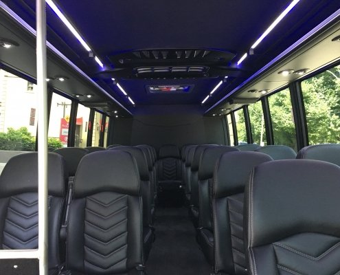 King Limo Bus Inside